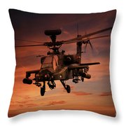 Close Air Support  Throw Pillow