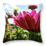Close Among Them Throw Pillow