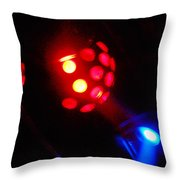 Close Contact With A Red Unidentified Flying Object Throw Pillow