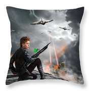 Close To The Edge - Yes Throw Pillow