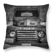 Close Up Of The Old Timer Throw Pillow