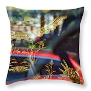 Closed For A Time Throw Pillow