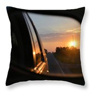 Closer Than They Appear Throw Pillow