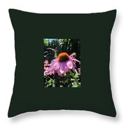 Closeup Throw Pillow