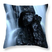 Closeup Waterfall Throw Pillow