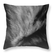 Cloud And Hills Throw Pillow