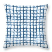 Cloud Boxes Throw Pillow by Linda Woods