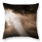 Cloud Break Throw Pillow