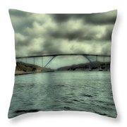 Cloud Bridge Throw Pillow