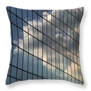 Cloud Captured Throw Pillow