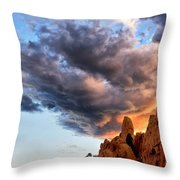 Cloud Explosion Throw Pillow