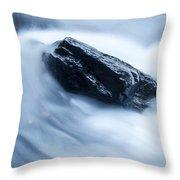 Cloud Falls Throw Pillow