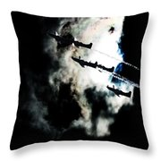 Cloud Formation Throw Pillow