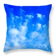 Cloud Formations I Throw Pillow