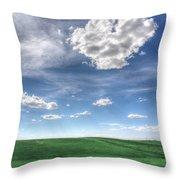 Cloud Heart Throw Pillow