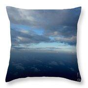 Cloud Horizon Throw Pillow
