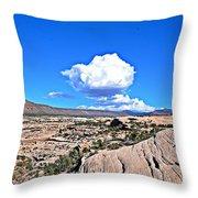 Cloud In Colorado Throw Pillow