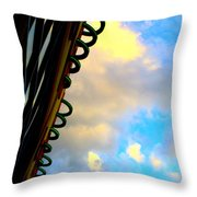 Cloud Loops Throw Pillow