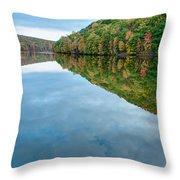 Lake - Cloud Mirror Throw Pillow