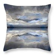 Cloud Mirror Throw Pillow