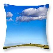 Cloud Nine Throw Pillow