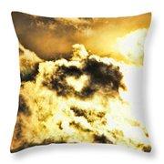 Cloud Of Love Throw Pillow