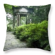 Cloud Pavilion Color Drawing Hp Throw Pillow