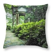 Cloud Pavilion Synchro Hp Throw Pillow