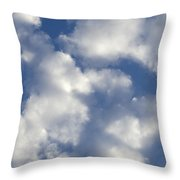 Cloud Series 4 Throw Pillow