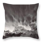 Cloud Study 1382 Throw Pillow