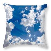 Cloud Study 3852 Throw Pillow