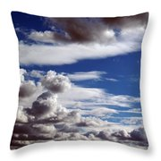 Cloud Ten Enhanced Throw Pillow
