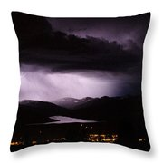 Cloud To Cloud Throw Pillow