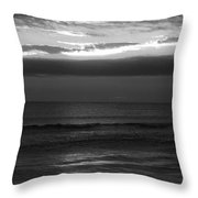 Clouded Sunrise Throw Pillow