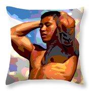 Clouds 2 Throw Pillow by Douglas Simonson