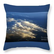 Clouds 4 Throw Pillow