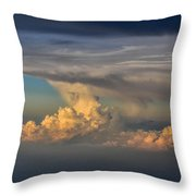 Clouds Above The Clouds Throw Pillow