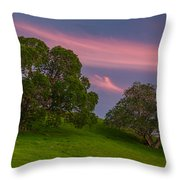 Clouds At Twilight Throw Pillow