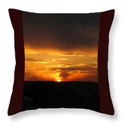 Clouds In Control - Featured In Harmony And Happiness And Newbies Groups Throw Pillow