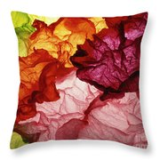 Clouds Of Colors Throw Pillow
