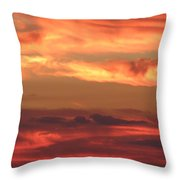 Clouds Of Figure Throw Pillow