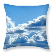 Clouds Of Glory II Throw Pillow