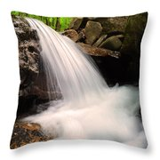 Clouds On The Creek Throw Pillow