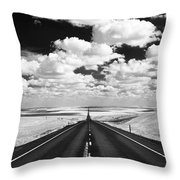 Clouds On Top Throw Pillow