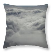 Clouds Over California Throw Pillow