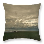 Clouds Over Illinois Throw Pillow
