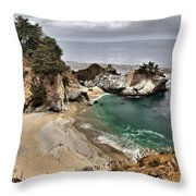 Clouds Over Mcway Throw Pillow