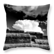 Clouds Over Santa Fe Throw Pillow