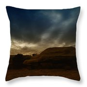 Clouds Scape Throw Pillow