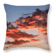 Clouds Shining Throw Pillow